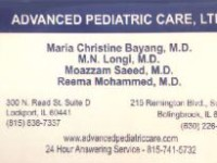 Advanced Pediatric